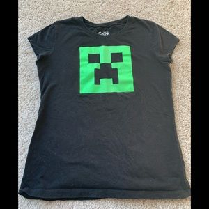 Justice Glow in the dark Minecraft T-shirt